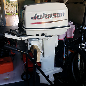 Outboard Johnson 2005 30hp Longshaft Wynnum Brisbane South East Preview