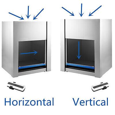 Vdhd-650 Horizontal Laminar Flow Hood 2ft Clean Bench Workstation 200w 110v