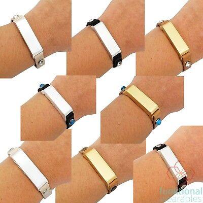 KATE Single-Strap Leather Fitbit Flex 2 Bracelet, Super lightweight and Comfy!