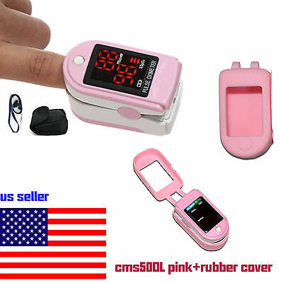 FDA Pulse Oximeter Finger Blood Oxygen SpO2 PR Heart Rate Monitor,Bag.US Seller,