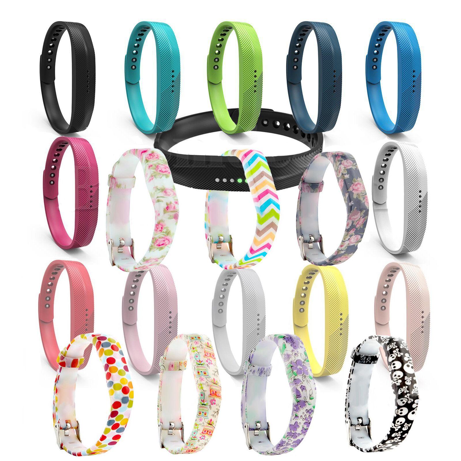 Ersatz Band Fitbit Flex 2 Strap Verschluss Armband Armreifen Tracker *UK*