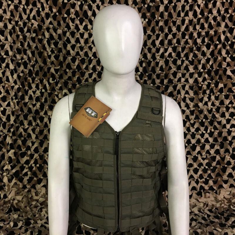 NEW BT Battle Tested MERC Molle Tactical Paintball Vest - Olive Green - XXL/XXXL