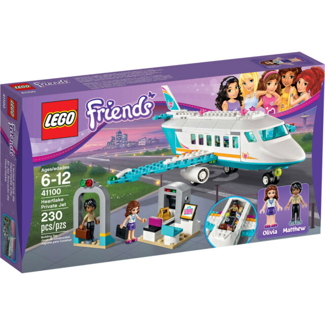 LEGO Friends Heartlake Private Jet (41100) Brand New & Boxed