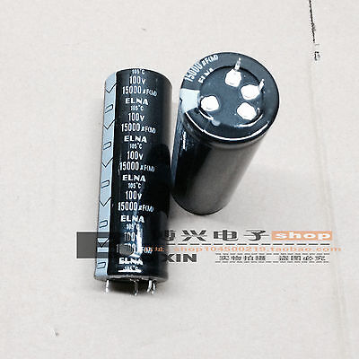 1pc Elna Hifi Audio Power Amplifier Filter Capacitor 100v 15000uf 3580 J242
