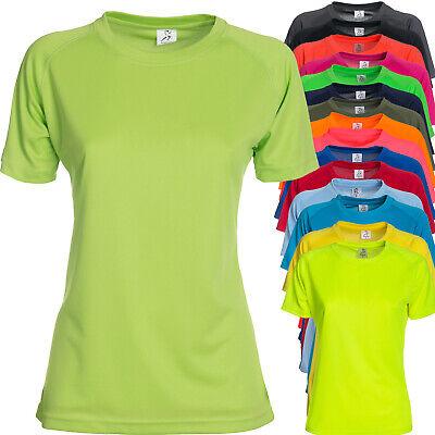 T Shirt Sportiva Donna Maglia Manica Corta Per Running Palestra Sprintex SPW100