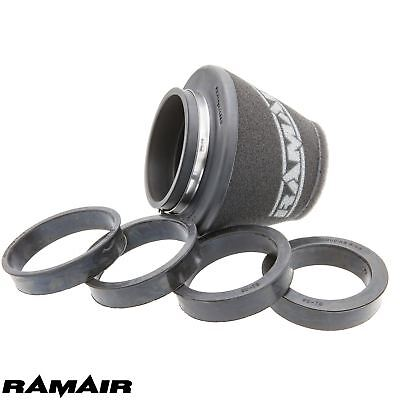 RAMAIR 90mm NECK UNIVERSAL INDUCTION FOAM SHORT AIR FILTER  WITH REDUCING RINGS
