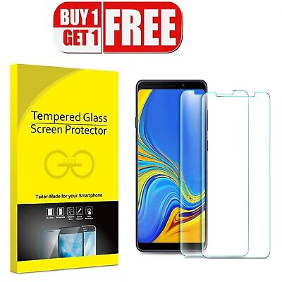For Samsung Galaxy A6 J4 J6 Plus A9 2018 Tempred Glass Screen Protector Film