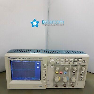 Tektronix Tds2002b Oscilloscope Portable 60mhz 2channel- Good Condition