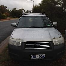 06 Subaru Forester MY07 Holder Weston Creek Preview