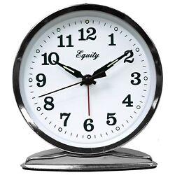Equity by La Crosse Wind-Up Loud Bell Alarm Clock 1