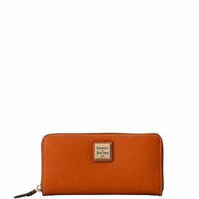 Dooney & Bourke Saffiano Large Zip Around Wallet Wallet