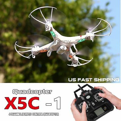 X5C-1 0.3MP Camera 6-Axis Gyro RC UAV RTF Quadcopter Drone UFO with 2.4Ghz Drone
