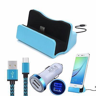 Dock&Car Charger+Type C Cable For LG G7 G6 V40 V35 V30 V20 Pixel 2 3 XL Stylo 4 for sale  San Jose