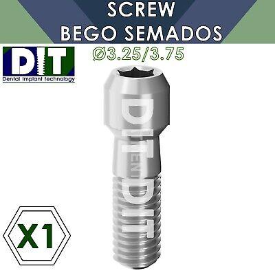 1 X Dental Screw Compatible Bego Semados 3.25 3.75mm Dental Implants