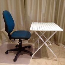Complete mini work station: chair, table/desk, chair mat Hamilton Hill Cockburn Area Preview