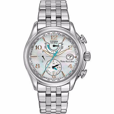 Citizen Eco-Drive Women's FC0000-59D A-T World Time Chronograph Watch