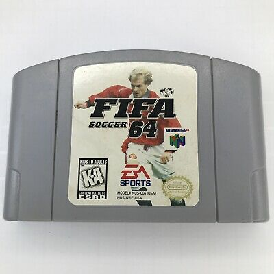 FIFA Soccer 64 (Nintendo 64, 1996) Cleaned / Tested / Authentic N64 (C2)