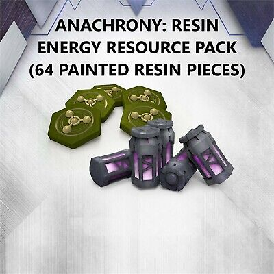 ANACHRONY: FRACTURES OF TIME - RESIN ENERGY SOURCE PACK - KICKSTARTER EXCLUSIVE!
