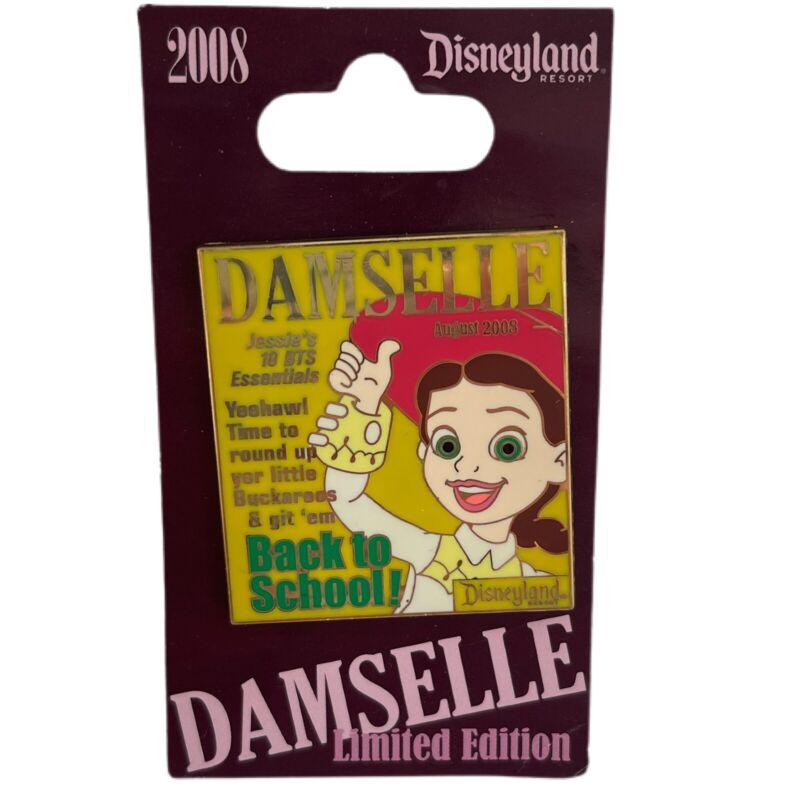 Disney DLR Pin 63768 Damselle Magazine Collection 2008 Jessie August LE 1000