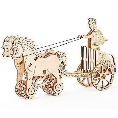Wooden.City: Roman chariot (Römischer Wagen)
