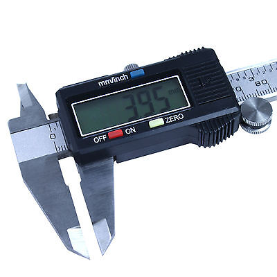6 Digital Caliper Stainless Steel Electronic Vernier Gauge Micrometer 0.01mm