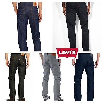 Levis 501 Shrink To Fit Button Fly Jeans Many Colors Many Sizes Denim Rigid Button Fly Denim