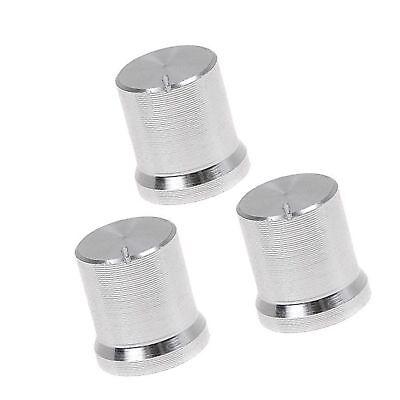 3 Piece 14 X 17mm Mini Aluminum Knob Cap For Potentiometer Knobs W26