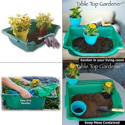 table-top gardener portable potting tray
