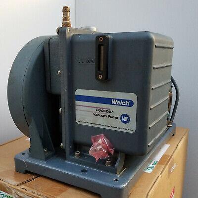 Welch Duoseal Vacuum Pump 1405b-01 W.5hp Motor 115230 V