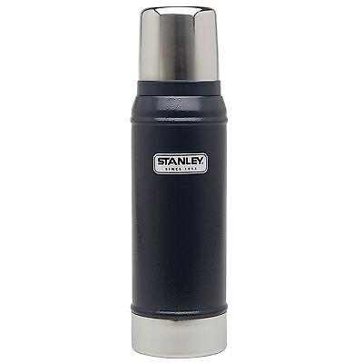 STANLEY Thermoflasche 0,47 L Isolierflasche Thermoskanne Vakuumflasche navy blau
