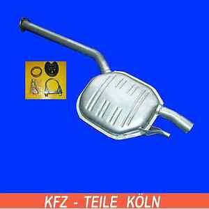 MERCEDES-W124-S124-250td-300td-SILENCIADOR-de-escape-Silenciador-Central