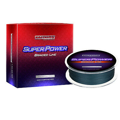 Купить KastKing - [UPGRADED] KASTKING SUPERPOWER BRAIDED FISHING LINE – INCREDIBLE SUPERLINE