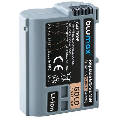 Akku für Nikon EN-EL15b | 65134 | 2040mAh | D600 D800 D7000 D7500 1 V1 / Z6 Z7