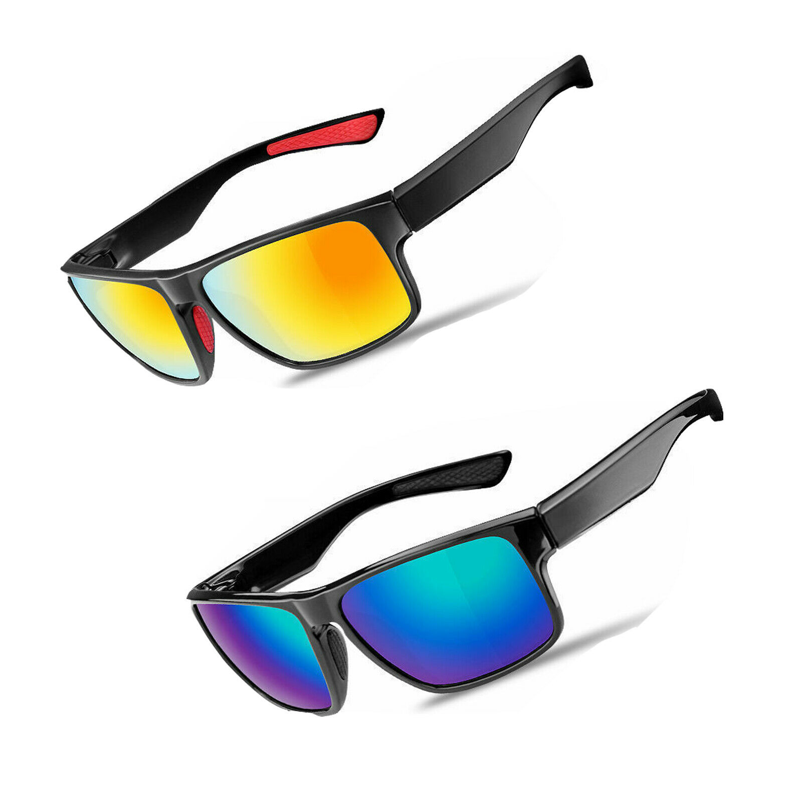 ROCKBROS Fahrradbrille Polarisierte Sonnenbrille Fahrrad Brille Radbrille UV400
