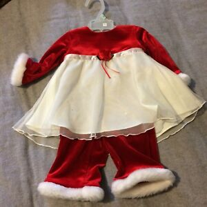6 Month Christmas outfit