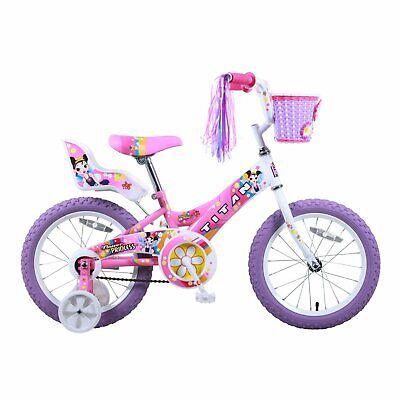 "16"" Titan Flower Princess Girls' BMX Bike - Pink"