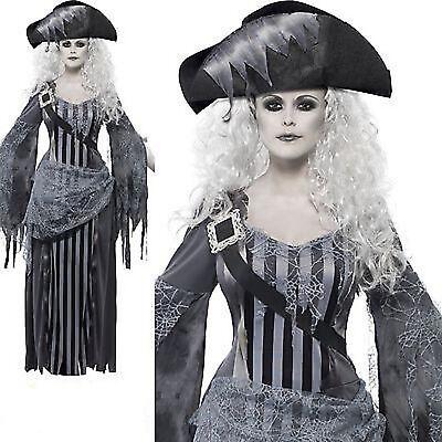 Geisterschiff Prinzessin Halloween Pirat 8-18 Damen Kostüm Verkleidung