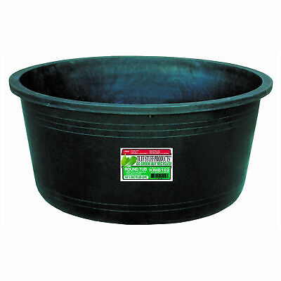 Tuff Stuff Heavy Duty Green Round Water, Feed, or Storage Tank Tub, 37 - Gallon Heavy Duty Tank
