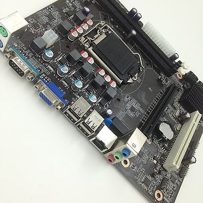 1156 Support (Intel H55 Micro ATX LGA 1156 Computer Motherboard Support LGA 1156/Socket H)