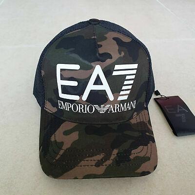 Emporio Armani EA7 Baseball Men's Cap Camo