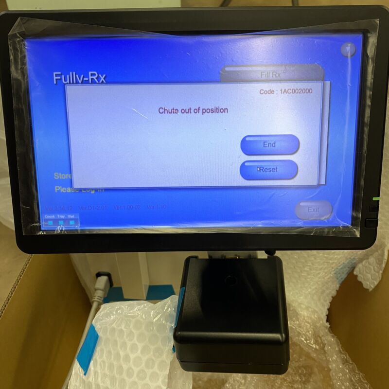 Yuyama TR-MC-01 Fully-RX Versatile Pharmaceutical Automated Pill Counter 04/2014