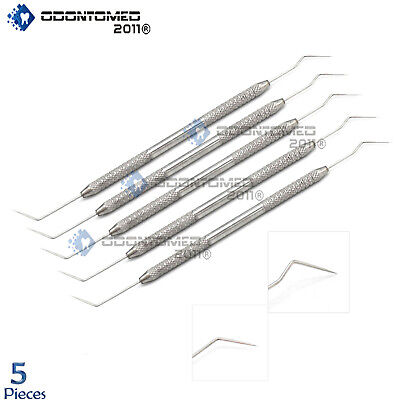 Odm 5-pcs Set Of Plugger Root Canal 57 Double Ended Dental Instrument