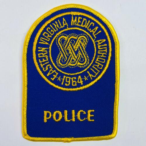 Eastern Virginia Medical Authority Police EVMA Virginia VA Patch (B3)