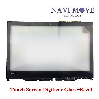 "NEW Toshiba Satellite E45W-C4200X 14"" Touch Screen Digitizer Glass + Bezel USA"