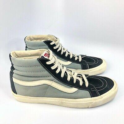 Vans Shoes Men's Size 11 Blue Black Sk8-Hi