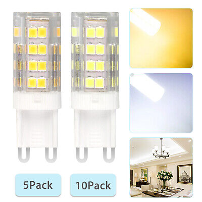 G9 40W Dimmable Halogen LED Corn Bulb Lamp 6000K 2835 40-SMD