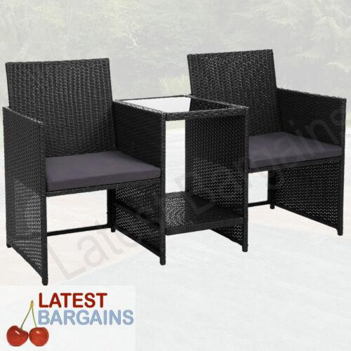 Garden Furniture - Jack & Jill Garden Bench Seat Table 2 Seater Outdoor Furniture Chair Loveseat