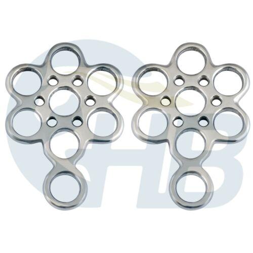 Flower Hackamore Shanks Bitless Bridle Stainless Steel
