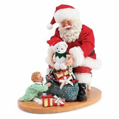 Dept 56 Possible Dreams New 2019 CHRISTMAS SURPRISE SANTA Figurine 6003845 Toys ()