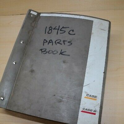 Case 1845c Skid Steer Loader Parts Manual Book Spare Catalog Mini Uni Spare List